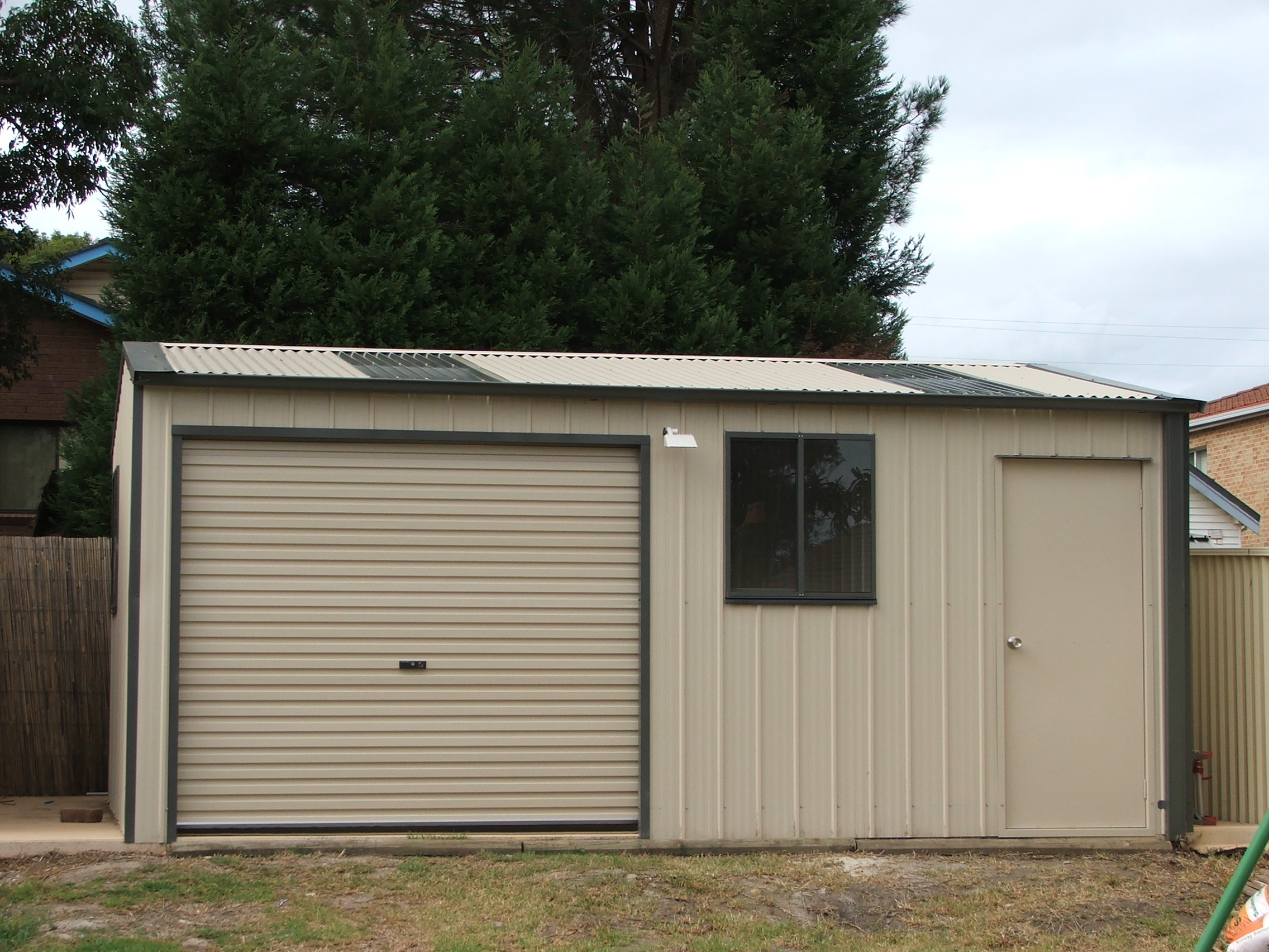 Secure cost effective home garden buildings garages for Stand alone garage kits